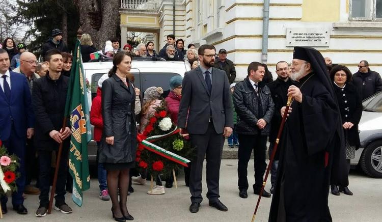 Стоян Мирчев в Силистра: Повече от всякога трябва да сведем глава пред героите, защото днес отново трябва да се борим за бъдещето на България