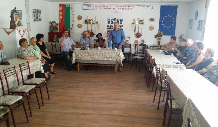 Народните представители от БСП ЛЯВА БЪЛГАРИЯ проведоха среща с граждани от община Дулово