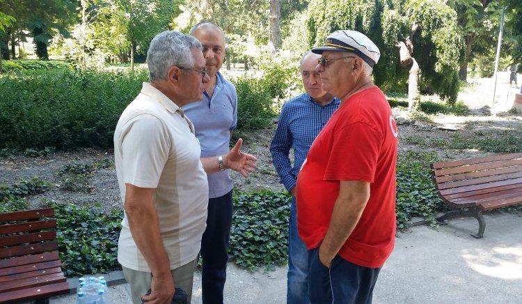 Депутати от БСП ЛЯВА БЪЛГАРИЯ на среща със силистренци